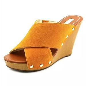 Jessica Simpson Suede Wedge Sandal Platform